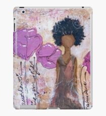 Let Your Light Shine, African American, Latina iPad Case/Skin