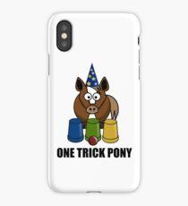 One Trick Pony iPhone Case/Skin