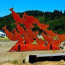 Rusty Fish/Oregon by Richard Bozarth