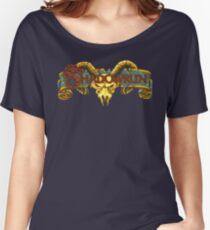 Shadowrun (Genesis Title Screen) Women's Relaxed Fit T-Shirt