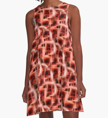 Abstract Rooms Of The Mind A-Line Dress