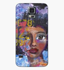 Fearless Girl, African American, Latina Case/Skin for Samsung Galaxy