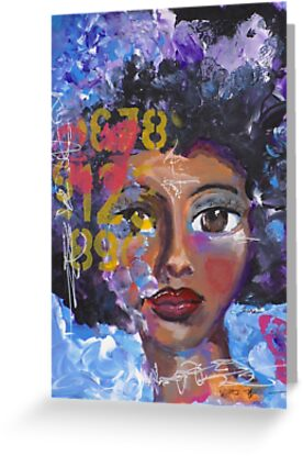Fearless Girl, African American, Latina by Tiare Smith