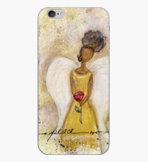 Angel of Peace 2, African American, Black Angels, Latina iPhone Case
