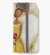 Angel of Peace 2, African American, Black Angels, Latina iPhone Wallet/Case/Skin