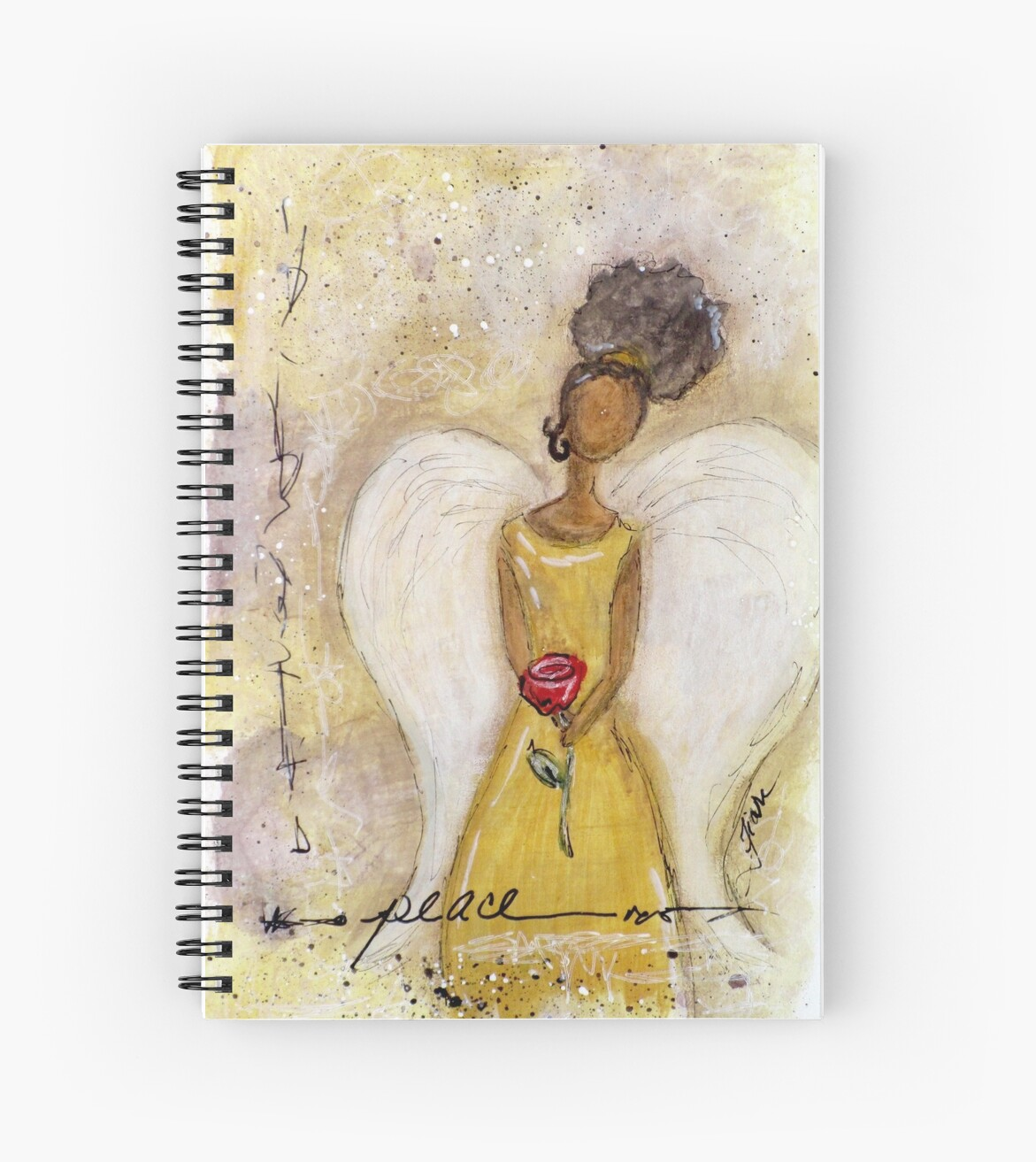 Angel of Peace 2, African American, Black Angels, Latina by classygirl