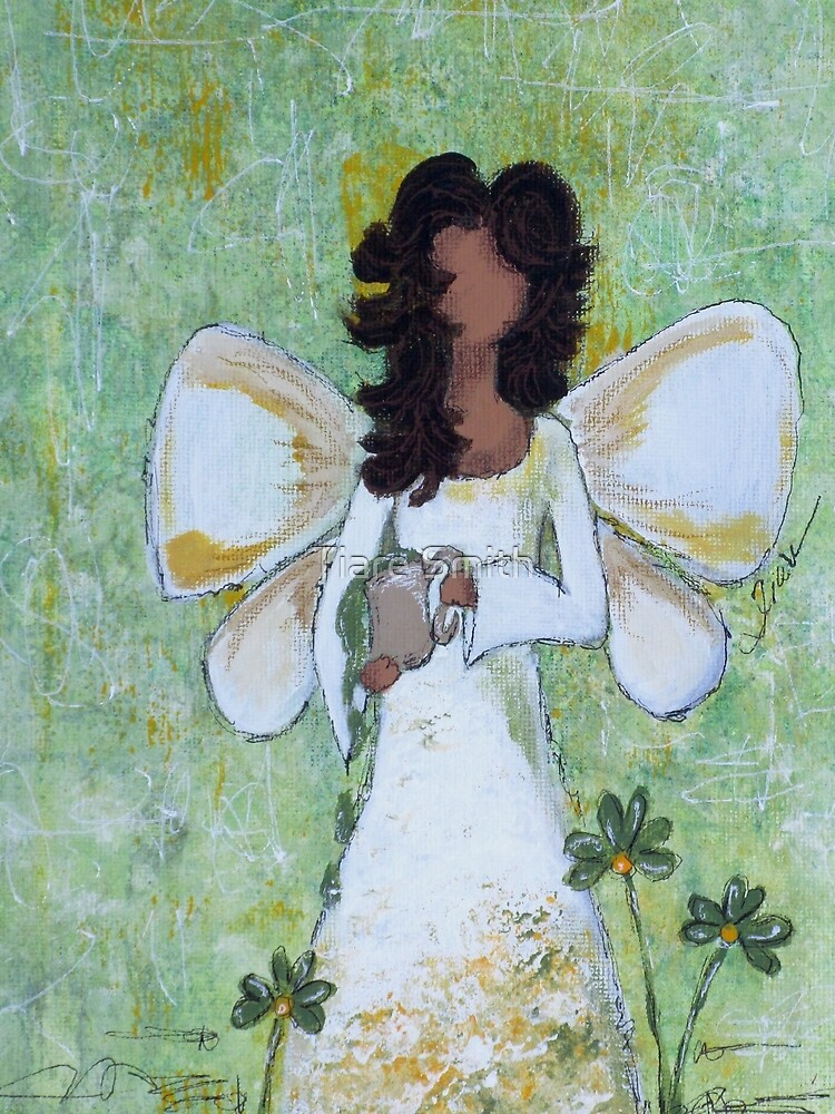 Angel of Abundance, African American, Angel, Black Angels, Latina by classygirl