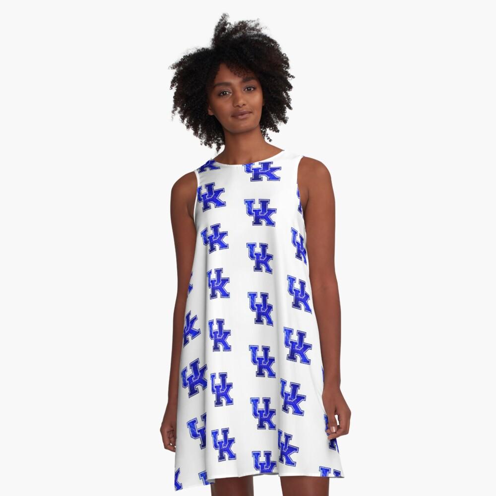 Galaxy Universität von Kentucky A-Linien Kleid