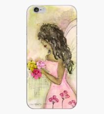 Angel of Encouragement, African American, Latina, Angel iPhone Case