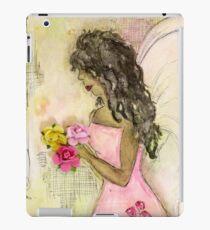 Angel of Encouragement, African American, Latina, Angel iPad Case/Skin