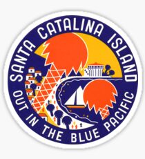 1935 Santa Catalina Island Sticker