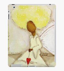 Angel of Love Again, African American, Latina iPad Case/Skin