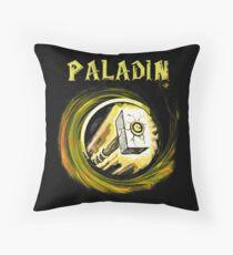 Warcraft - Paladin Throw Pillow