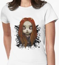Haunted Women's Fitted T-Shirt