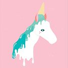 Horse by Day, Unicorn by Ice Cream by brigittehuynh