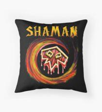 Warcraft - Shaman Throw Pillow