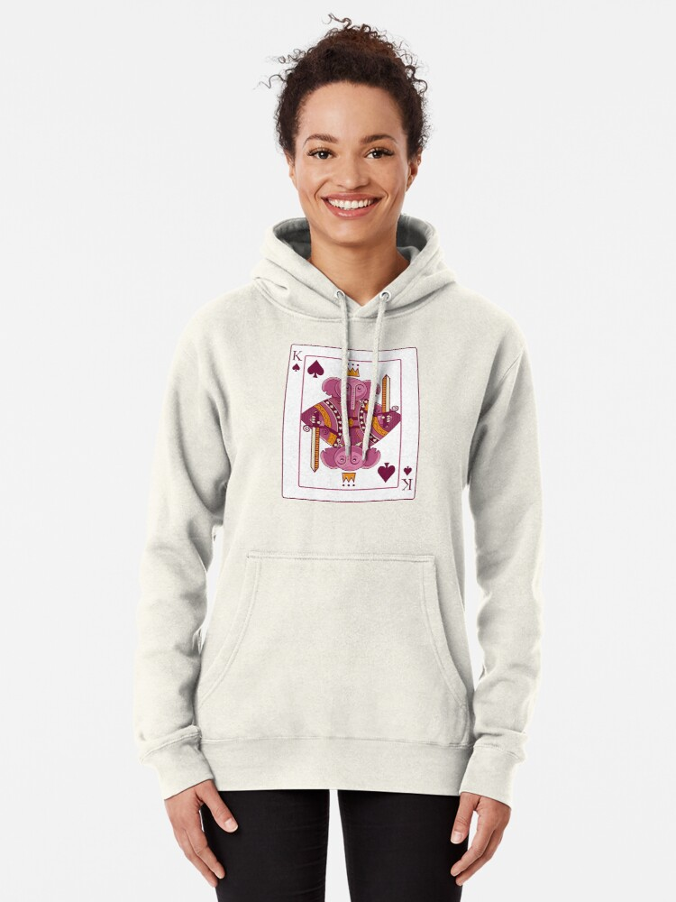 Alternate view of Elephant King Pullover Hoodie