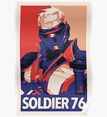 Soldier 76 HOPE Propaganda Poster