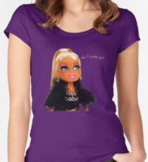Plastic Surgery Bratz Doll Women's Fitted Scoop T-Shirt