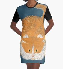 French she-cat Graphic T-Shirt Dress