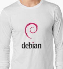 Debian LINUX Long Sleeve T-Shirt