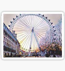 London Eye // Sticker Sticker