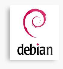 Debian LINUX Metal Print