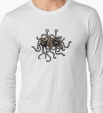 FSM - Flying Spaghetti Monster Long Sleeve T-Shirt