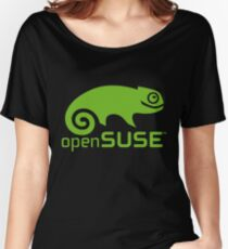 openSUSE LINUX Women's Relaxed Fit T-Shirt