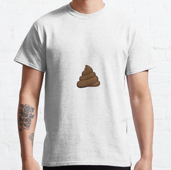 Emoji de merde ordinaire T-shirt classique