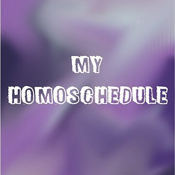 My Homoschedule #1 by pride-saprie