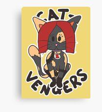 Cat Widow Canvas Print