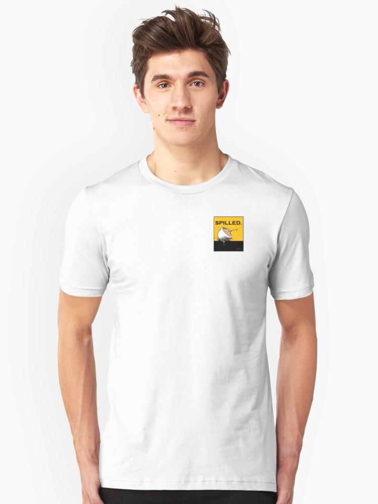 spill  Unisex T-Shirt Front