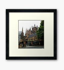 St Mary's Cathedral Sydney NSW Australia Framed Print