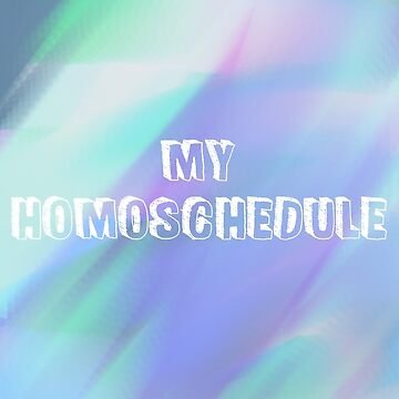 My Homoschedule #2 by pride-saprie