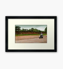 Siem Reap. Framed Print