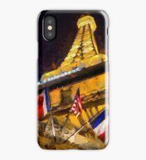 Fabulous Paris Hotel with a Lautrec twist iPhone Case/Skin