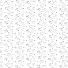 Riccoboni Black and White Swizzle and Swirls by RDRiccoboni
