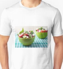 Useful vegetarian food from raw tomatoes, cucumbers and onions T-Shirt
