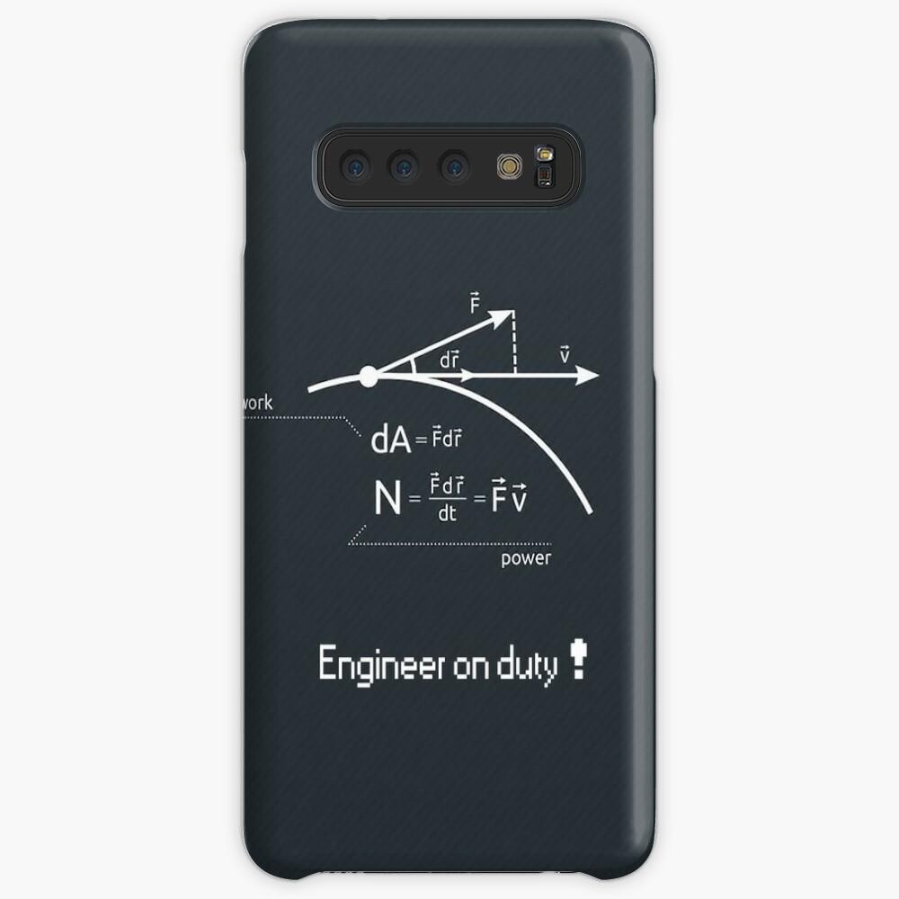 Engineer work = power ! Case & Skin for Samsung Galaxy