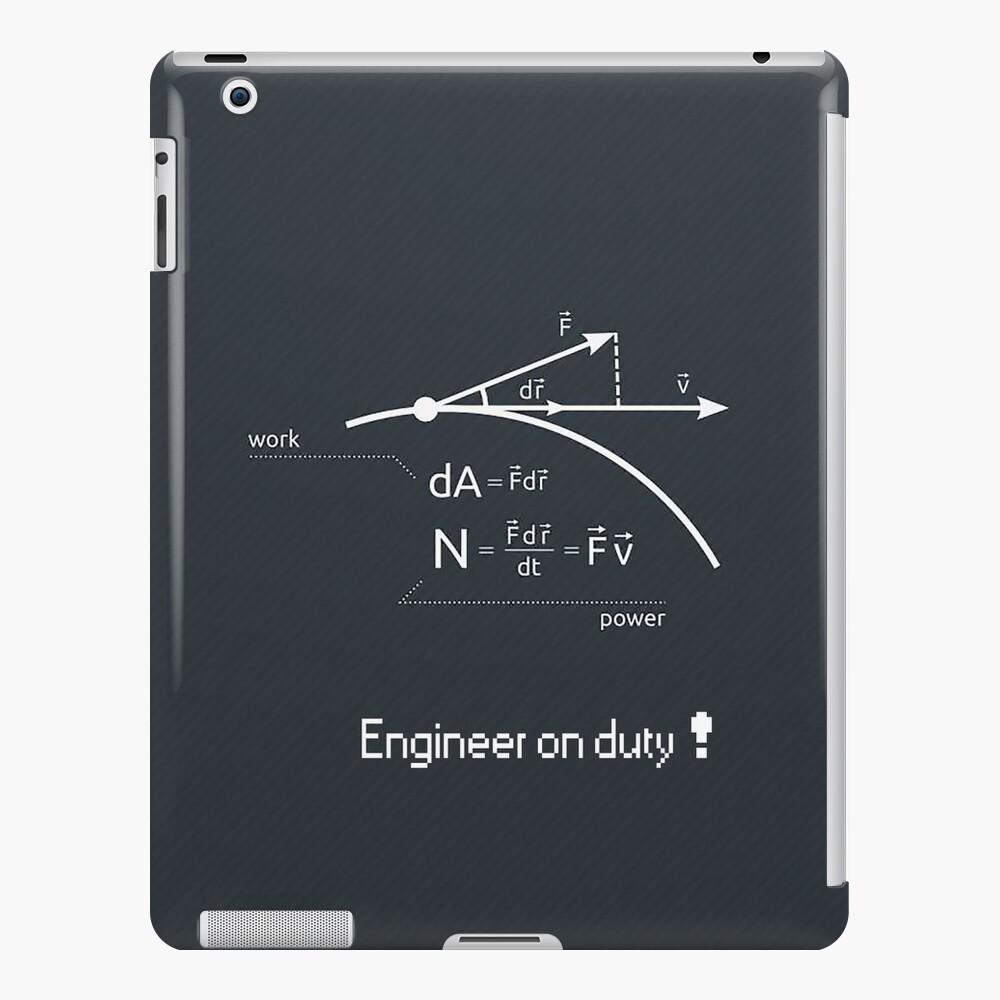 Engineer work = power ! iPad Case & Skin