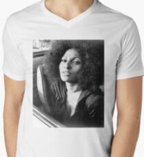 PAM GRIER Men's V-Neck T-Shirt