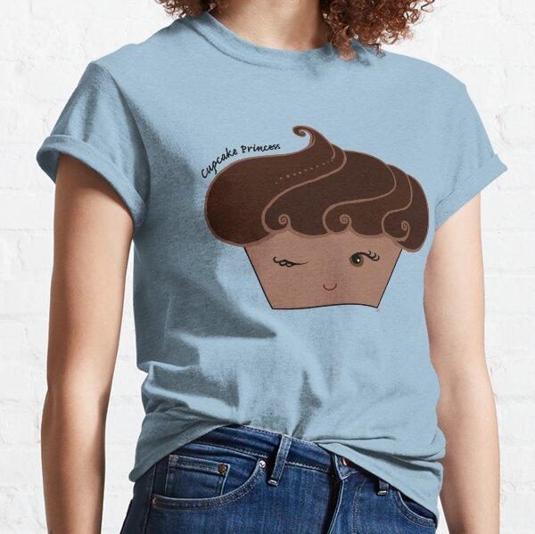 Chocolate Cupcake Princess Classic T-Shirt