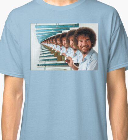 Bob Ross multi Classic T-Shirt