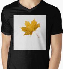 Autumn leaf Mens V-Neck T-Shirt