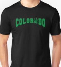 Marijuana Leaf Colorado Unisex T-Shirt