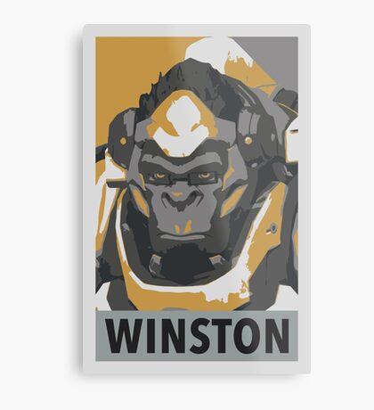 Winston HOPE Propaganda Metal Print