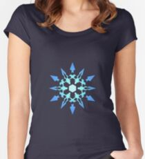 Schnee Dust Co Women's Fitted Scoop T-Shirt