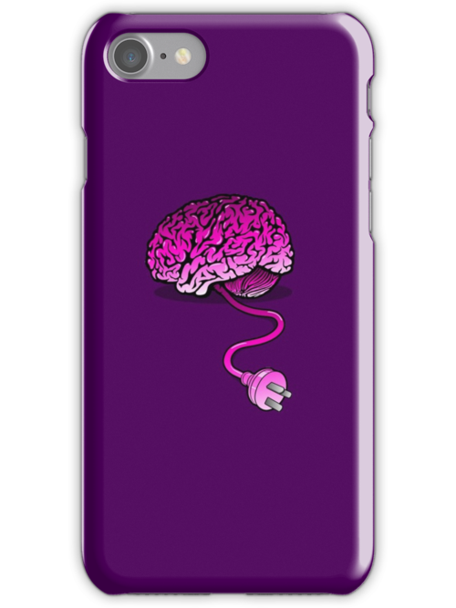 Your Brain without Coffee - Pink by R-evolution GFX