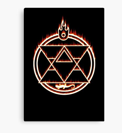 The Flame Alchemist Canvas Print